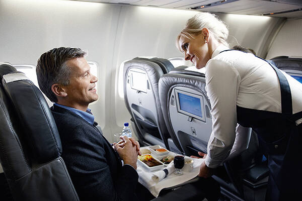 Icelandair Saga Business Class