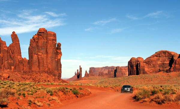 Monument Valley, Navajo Reservaat