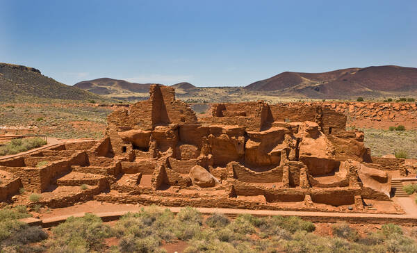Wupatki National Monument, Navajo Reservaat