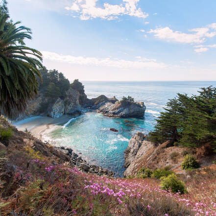 Julia Pfeiffer Burns State Park aan Highway 1