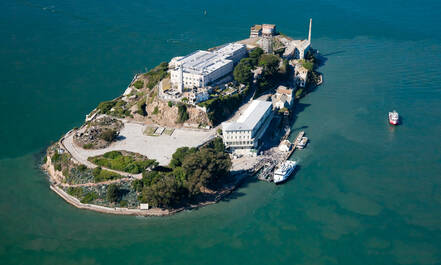 Alcatraz in San Francisco komt terug in menige film