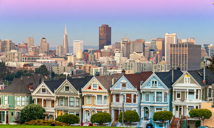 Painted Ladies in San Francisco