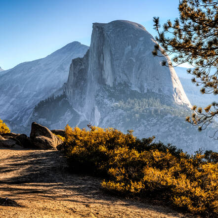 Half Dome Trail in Yosemite