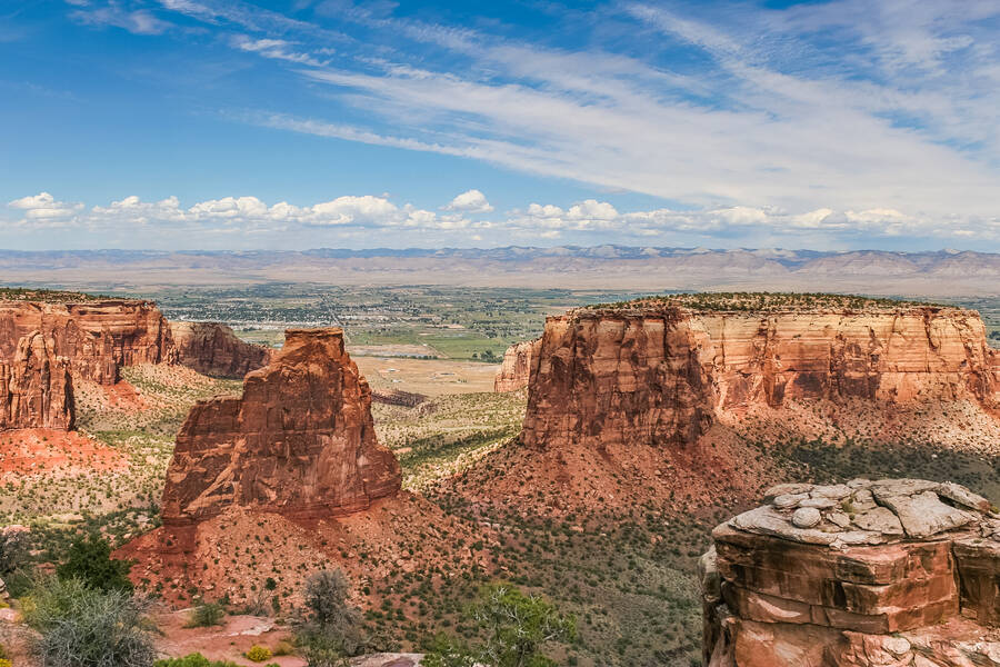 Colorado National Monument bij Grand Junction