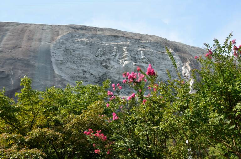 Stone Mountain bij Atlanta in Georgia