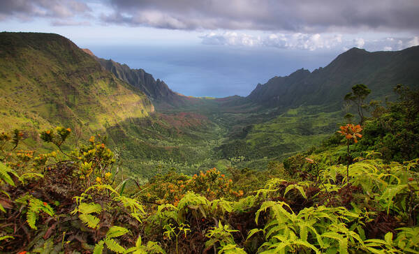 Kalalau Trail, Kauai Island, Hawaii