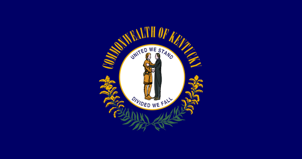 Vlag Kentucky