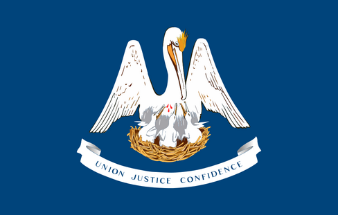 Vlag Louisiana