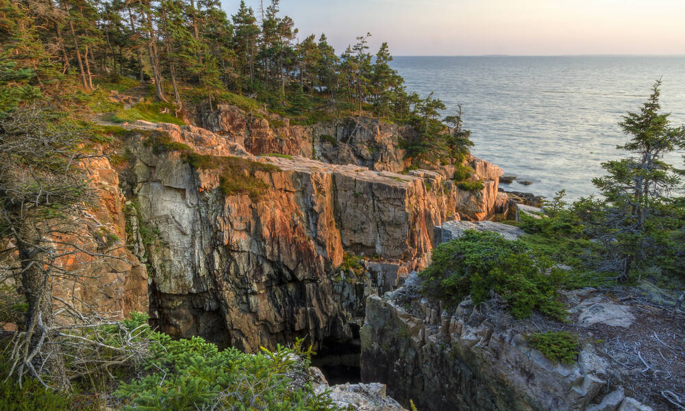 Acadia National Park in Maine, Schoodic Peninsula, Ravens Nest