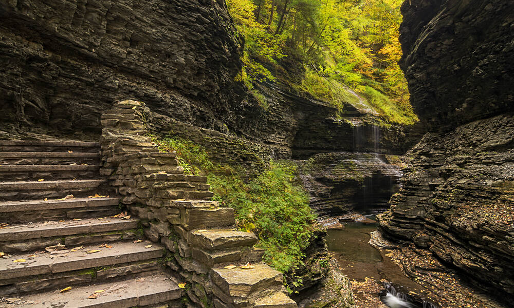 Watkins Glen State Park, Finger Lakes New York