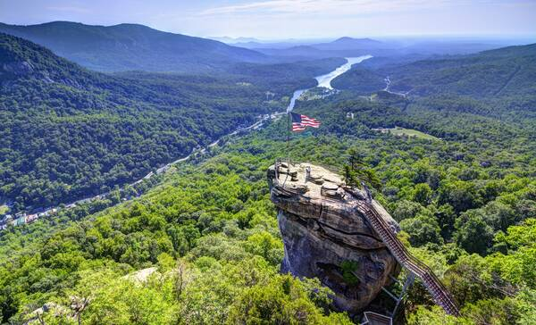 Asheville Chimney Rock State Park