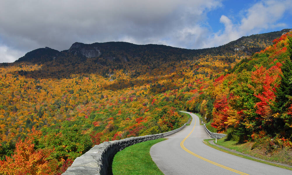 Blue Ridge Parkway in Virgninia/North Carolina