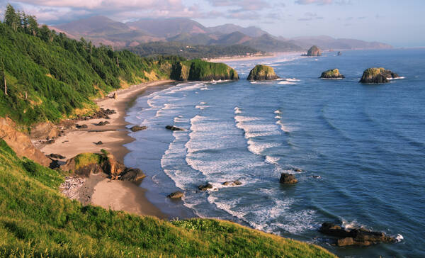 Ecola State Park in Oregon nabij Cannon Beach