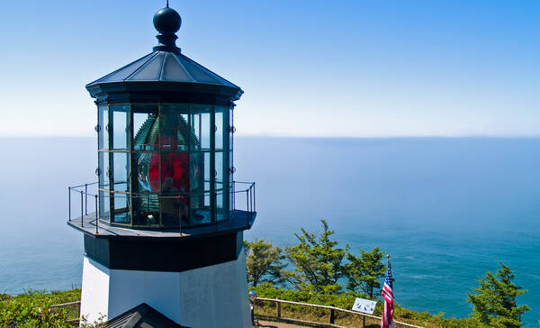Cape Meares in Oregon
