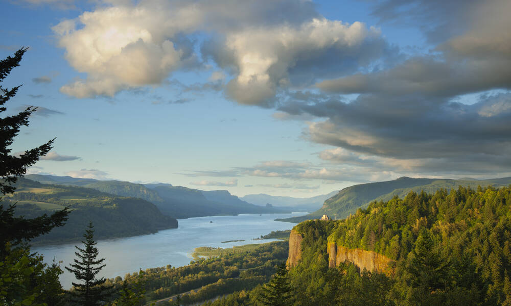 Vista House, Columbia River Gorge