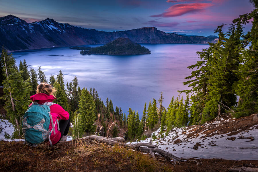 Crater Lake, Oregon, Wizard Island