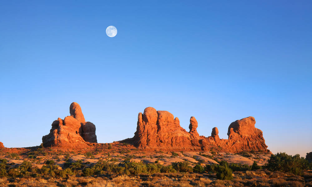 Welkom in Arches National Park