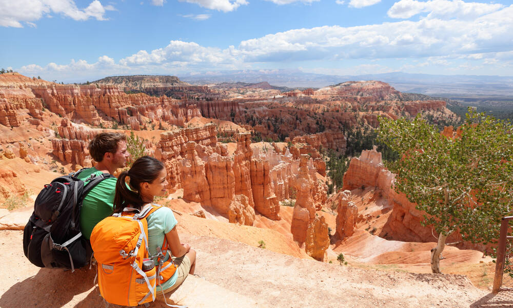 Viewpoint in Bryce National Park