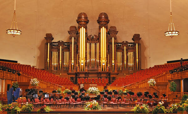 Salt Lake City, Tabernacle op Temple Square