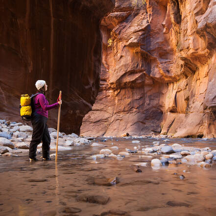 Zion, The Narrows
