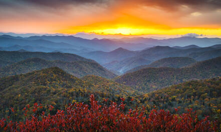 Blue Ridge Parkway North Carolina Virginia