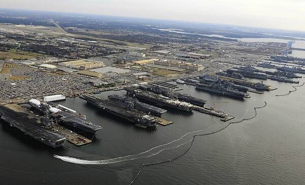 Norfolk Naval Base, Virginia