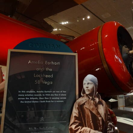 National Air and Space Museum, Amelia Earhart