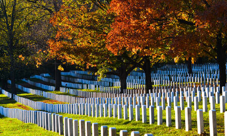 Arlington National Cemetery Virginia