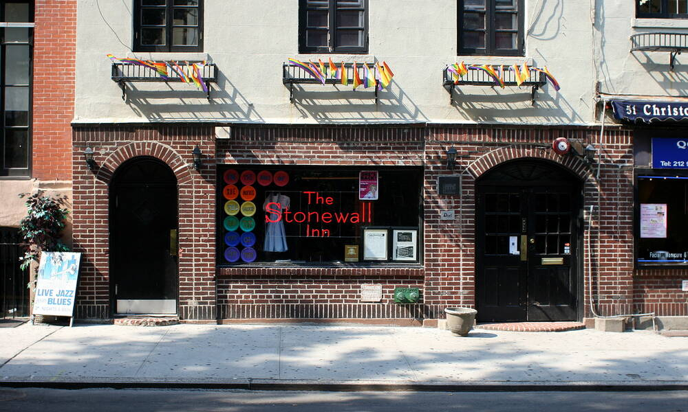 Stonewall Inn Monument, New York.