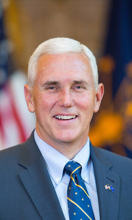 Mike Pence is de running mate van Republikein Donald Trump