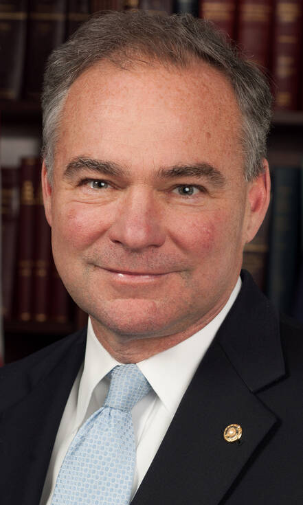 Tim Kaine, running mate van Democraat Hillary Clinton