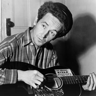Woody Guthrie, foto: Public Domain/Library of Congress's Prints and Photographs