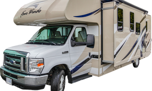 Fraserway C-XLarge camper met slide-out