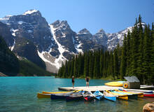 Excursie naar Moraine Lake in Banff National Park