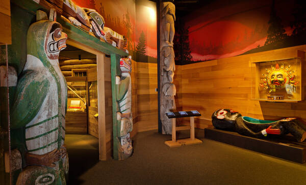 Campbell River Museum tentoonstelling over First Nations