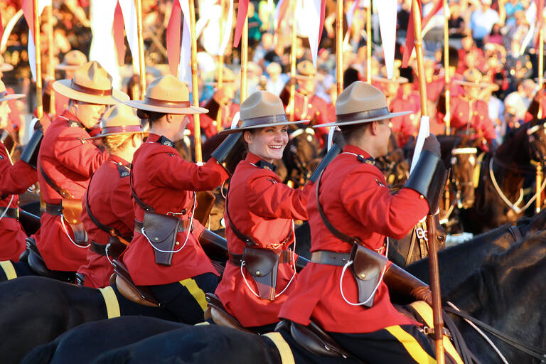 Mounties in Canada