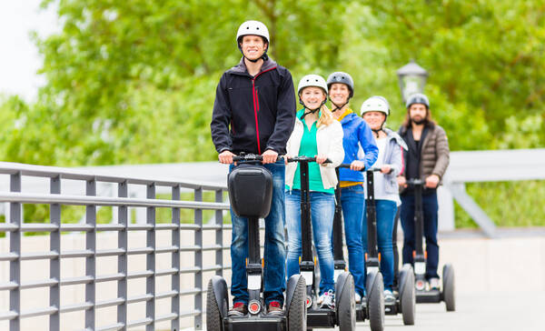 Segway excursie Blue Mountain