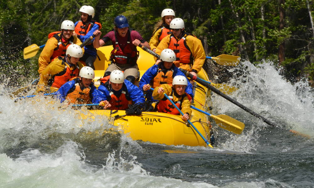 Family Friendly Rafting Clearwater