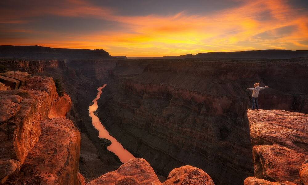 Typisch Amerikaans: Grand Canyon